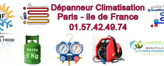depannage clim paris