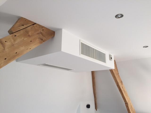 installation de climatisation gainable